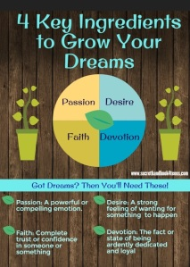4 Ingredients 2 Grow Your Dreams