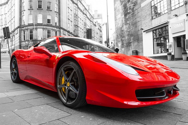 U R What U Think So Why Not Think Yourself into aFerrari?